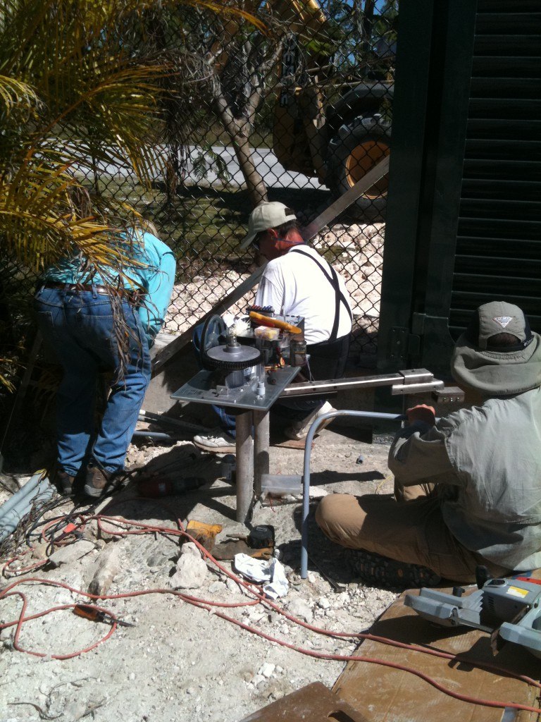 Everyone worked well together, electricians, gate installers and gate operator installers.
